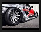 """MAZDA RX8 RED BULL A3 FRAMED PHOTOGRAPHIC PRINT 15.7"""" x 11.8"""""""