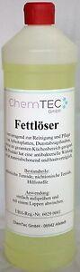 ChemTec Fettlöser Grill-und Backofenreiniger +++hochwirksam+++ 1 Liter