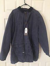 $220 Weatherproof Men's Navy Jacket Size XL Heavy Duty Jacket