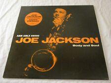 Joe Jackson - Body and Soul - OIS mit Texten / Lyrics - Vinyl LP Album