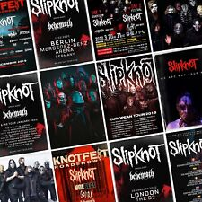 SLIPKNOT We Are Not Your Kind World Tour 2019/2020 PHOTO Print POSTER Live Mask