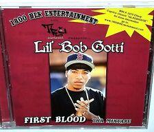"""Lil Bob Gotti First Blood CD e40 RAP Promo G FUNK Random lp 12"""""""