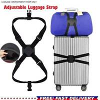Heavy Duty Adjustable Luggage Strap Long Cross Travel Suitcase Packing Belt 2020