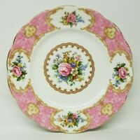 "ROYAL ALBERT ""LADY CARLYLE"" 7 1/4"" DESSERT/PIE PLATE - RARE!"