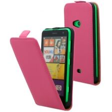ETUI FLIP ECO-CUIR LEATHER SLIM CASE PINK HOUSSE FOR NOKIA LUMIA 625