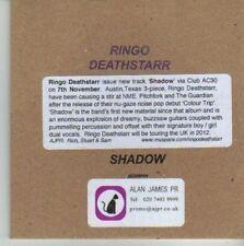 (CV828) Ringo Deathstarr, Shadow - 2011 DJ CD