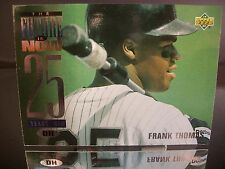 Frank Thomas Upper Deck THE FUTURE IS NOW 25 YEARS OLD 1994 Card #55