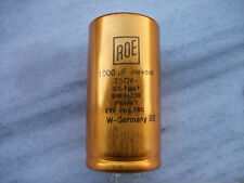 1pc ROE GOLD 1000uf 250V AUDIO GRADE 5pin HI-END TUBE AMP CAP- SOFT NICE SOUND!