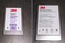 3M 44517 Data/Fax Modem 14.4 Kbps PCMCIA PC Card w/ XJACK Connector