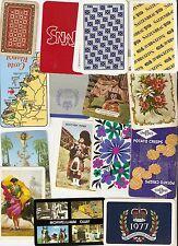 50 Vintage Collectable Single Playing Cards Mixed Bag PP