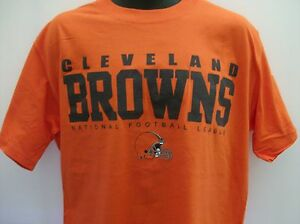 Cleveland Browns NFL Short Sleeve T- Shirt - Medium - Free Shipping