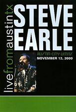 STEVE EARLE - Live From Austin TX (2000) DVD [J148]