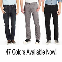 New Men's Levi's 511 Slim Skinny Fit Denim Jeans Tapered Leg Stretch Pants $58