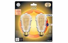 8 GE Lighting 5 Watt LED5DST19-V-OT2P Vintage Light Bulb 40W equivalent A19