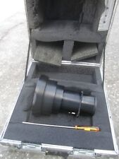 Short Throw High Precision zoom Lens with road-case and a screw driver