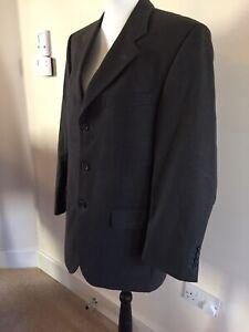 Mens PIERRE CARDIN  pure wool suit jacket size 48