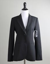 THEORY NWT $395 Rory Wool Tailor Lined Blazer Jacket Top in Black Size 4
