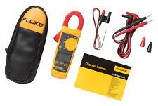 Fluke 325 True RMS AC DC Digital Clamp Meter with Temperature & C23 Carry Case