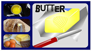 BUTTER - SOUVENIR NOVELTY FRIDGE MAGNET - FRIDGE REMINDER / BRAND NEW / GIFTS