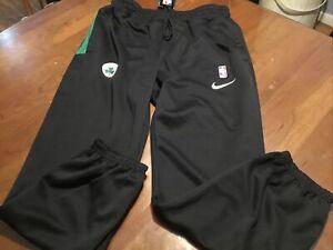 Nike Mens Boston Celtics Therma-Flex Showtime Performance Pant Size XXL Black