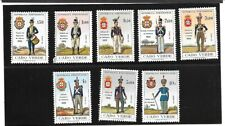 CAPE VERDE Sc 330-7 NH issue of 1965 - UNIFORMS