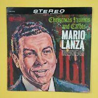 MARIO LANZA Christmas Hymns & Carols CAS777(e) LP Vinyl VG+ Cover VG+