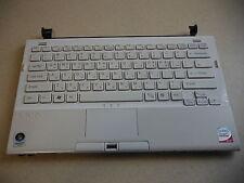Sony VAIO VGN-TZ36L PCG-4NEP White Palmrest & Keyboard Good Condition 3-106-295