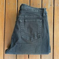 NYDJ Not Your Daughters Jeans Size 12 Black Jeans Straight Leg Casual Womens