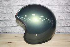 Moto Guzzi Jet Verde Matt Motorcycle Helmet