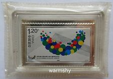 China Shanghai Mint 2011 26th Summer Universiade Shenzhen Silver Stamp medal 26g