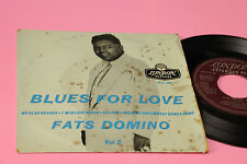 FATS DOMINO EP BLUES FOR LOVE VOL 2 ORIGINAL UK