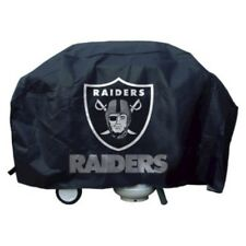 Oakland Raiders NFL DELUXE Heavy Duty BBQ Barbeque Grill Cover