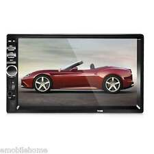 """7018B 7"""" Bt V2.0 Car Audio Stereo Touch Screen Mp5 Player Support Tf Mmc Usb"""