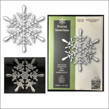 Fractal Snowflake metal die Poppystamps cutting dies 1853 Christmas Winter Snow