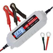 Dino KRAFTPAKET Batterieladegerät 6V-1A/12V-4A mit Batterietester 1.2-120Ah KFZ