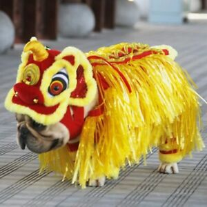 Halloween Funny Dog Clothes Costume Pet Cat Puppy Cosplay Dragon Dance Dress New