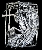 HATE ETERNAL cd lgo DEMON CHRIST THE BEAST NOW HAS ARISEN Official SHIRT MED new