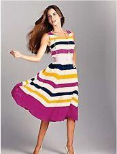 Kaleidoscope Polyester Sleeveless Dresses for Women