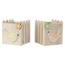 Deko-Sets aus Holz für Teelichter