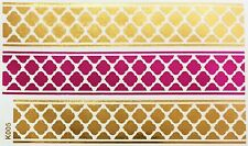 Tatouage Or Rose UNE FOIS collée Flash Temporaire 3 pièces bracelet collier pied