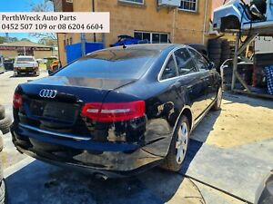 Audi A6 C6 4F Black 2006 to 2011 Wrecking parts, panel, gearbox etc for sale