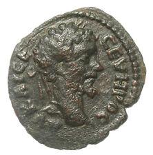 ROMAN PROVINCIAL BRONZE COIN SEPTIMIUS SEVERUS NIKOPOLIS NEMESIS PATERA AE17