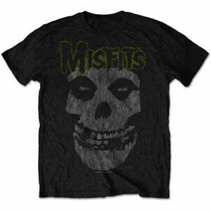 Misfits - Classic Vintage Style Fiend Black Shirt