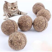2Pcs Health Catnip Cat Mint Ball Coated Catnip Pet Kitten Grasping Play Toy CO