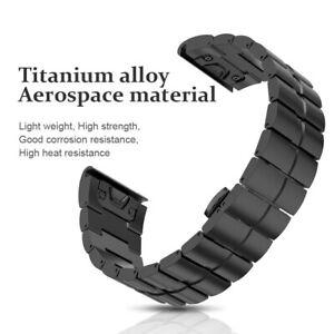 Replacement Luxery Titanium Alloy Sport Band Strap For Garmin Fenix 5X
