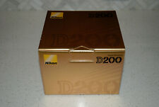 Nikon D200 Digital Slr camera box Only This is only the box no camera