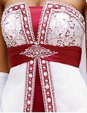 David's bridal wedding dress YP3066, size 12