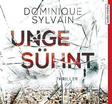5 CD HÖRBUCH - DOMINIQUE SYLVAIN - UNGESÜHNT - THRILLER - NEU & OVP