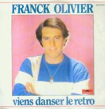 """7"""" Franck Olivier/Viens Danser Le Retro (Belgium)"""