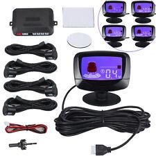Auto Einparkhilfe 4 Sensor Alarm Parkhilfe Rückfahrwarner Parksensoren PDC Schwa